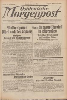 Ostdeutsche Morgenpost : erste oberschlesische Morgenzeitung. Jg.12, Nr. 169 (20 Juni 1930)