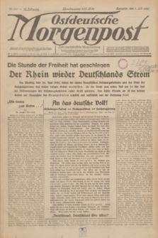 Ostdeutsche Morgenpost : erste oberschlesische Morgenzeitung. Jg.12, Nr. 180 (1 Juli 1930)