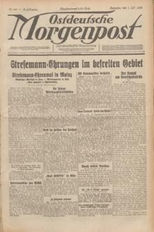 Ostdeutsche Morgenpost : erste oberschlesische Morgenzeitung. Jg.12, Nr. 186 (7 Juli 1930)