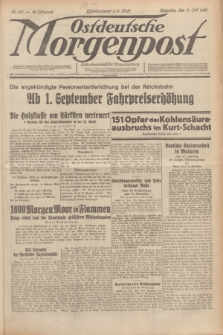Ostdeutsche Morgenpost : erste oberschlesische Morgenzeitung. Jg.12, Nr. 190 (11 Juli 1930)