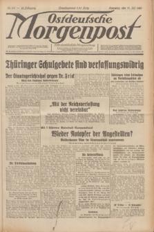 Ostdeutsche Morgenpost : erste oberschlesische Morgenzeitung. Jg.12, Nr. 191 (12 Juli 1930)