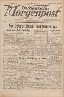 Ostdeutsche Morgenpost : erste oberschlesische Morgenzeitung. Jg.12, Nr. 200 (21 Juli 1930)