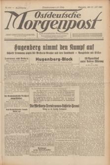 Ostdeutsche Morgenpost : erste oberschlesische Morgenzeitung. Jg.12, Nr. 204 (25 Juli 1930)
