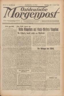 Ostdeutsche Morgenpost : erste oberschlesische Morgenzeitung. Jg.12, Nr. 213 (3 August 1930) + dod.