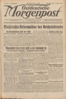 Ostdeutsche Morgenpost : erste oberschlesische Morgenzeitung. Jg.12, Nr. 229 (19 August 1930)
