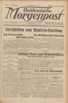 Ostdeutsche Morgenpost : erste oberschlesische Morgenzeitung. Jg.12, Nr. 232 (22 August 1930)