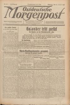 Ostdeutsche Morgenpost : erste oberschlesische Morgenzeitung. Jg.12, Nr. 234 (24 August 1930) + dod.