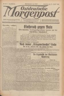Ostdeutsche Morgenpost : erste oberschlesische Morgenzeitung. Jg.12, Nr. 241 (31 August 1930) + dod.