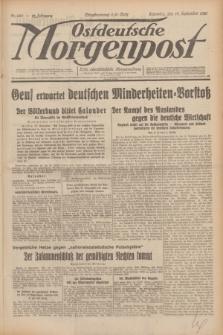 Ostdeutsche Morgenpost : erste oberschlesische Morgenzeitung. Jg.12, Nr. 260 (19 September 1930)