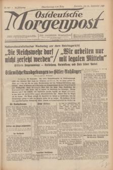 Ostdeutsche Morgenpost : erste oberschlesische Morgenzeitung. Jg.12, Nr. 267 (26 September 1930)