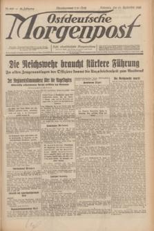 Ostdeutsche Morgenpost : erste oberschlesische Morgenzeitung. Jg.12, Nr. 268 (27 September 1930)