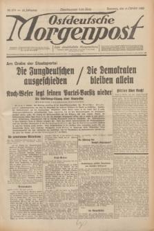 Ostdeutsche Morgenpost : erste oberschlesische Morgenzeitung. Jg.12, Nr. 279 (8 Oktober 1930)