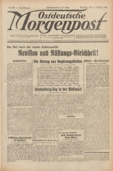 Ostdeutsche Morgenpost : erste oberschlesische Morgenzeitung. Jg.12, Nr. 282 (11 Oktober 1930)