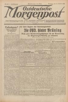 Ostdeutsche Morgenpost : erste oberschlesische Morgenzeitung. Jg.12, Nr. 283 (12 Oktober 1930) + dod.