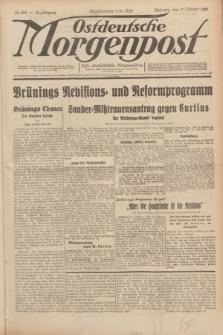 Ostdeutsche Morgenpost : erste oberschlesische Morgenzeitung. Jg.12, Nr. 288 (17 Oktober 1930)