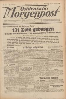 Ostdeutsche Morgenpost : erste oberschlesische Morgenzeitung. Jg.12, Nr. 293 (22 Oktober 1930)