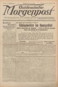 Ostdeutsche Morgenpost : erste oberschlesische Morgenzeitung. Jg.12, Nr. 297 (26 Oktober 1930) + dod.