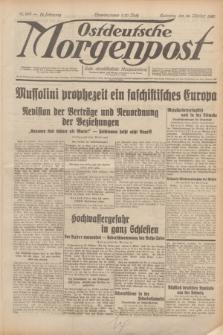 Ostdeutsche Morgenpost : erste oberschlesische Morgenzeitung. Jg.12, Nr. 299 (28 Oktober 1930)