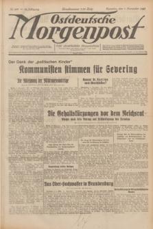 Ostdeutsche Morgenpost : erste oberschlesische Morgenzeitung. Jg.12, Nr. 309 (7 November 1930)