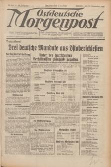 Ostdeutsche Morgenpost : erste oberschlesische Morgenzeitung. Jg.12, Nr. 319 (17 November 1930)