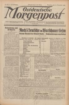 Ostdeutsche Morgenpost : erste oberschlesische Morgenzeitung. Jg.12, Nr. 320 (18 November 1930)