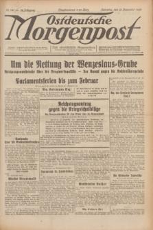 Ostdeutsche Morgenpost : erste oberschlesische Morgenzeitung. Jg.12, Nr. 345 (13 Dezember 1930)