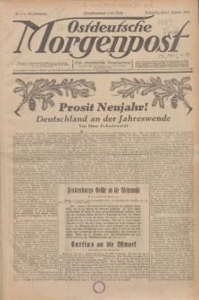 Ostdeutsche Morgenpost : erste oberschlesische Morgenzeitung. Jg.13, Nr. 1 (1 Januar 1931)