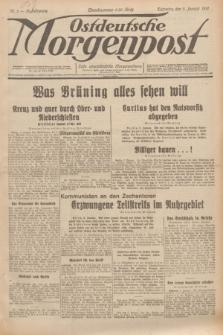 Ostdeutsche Morgenpost : erste oberschlesische Morgenzeitung. Jg.13, Nr. 3 (3 Januar 1931)