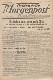 Ostdeutsche Morgenpost : erste oberschlesische Morgenzeitung. Jg.13, Nr. 4 (4 Januar 1931) + dod.