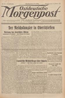 Ostdeutsche Morgenpost : erste oberschlesische Morgenzeitung. Jg.13, Nr. 10 (10 Januar 1931)
