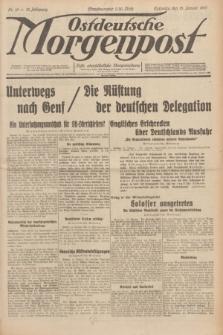 Ostdeutsche Morgenpost : erste oberschlesische Morgenzeitung. Jg.13, Nr. 15 (15 Januar 1931)