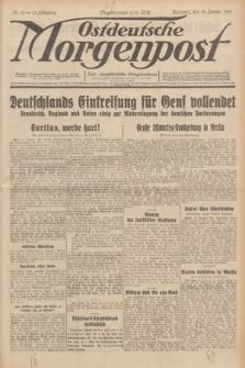 Ostdeutsche Morgenpost : erste oberschlesische Morgenzeitung. Jg.13, Nr. 16 (16 Januar 1931)