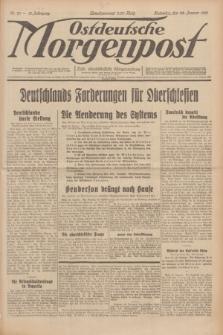 Ostdeutsche Morgenpost : erste oberschlesische Morgenzeitung. Jg.13, Nr. 23 (23 Januar 1931)