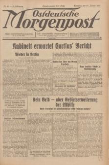 Ostdeutsche Morgenpost : erste oberschlesische Morgenzeitung. Jg.13, Nr. 27 (27 Januar 1931)