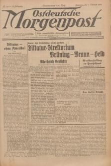 Ostdeutsche Morgenpost : erste oberschlesische Morgenzeitung. Jg.13, Nr. 32 (1 Februar 1931) + dod.