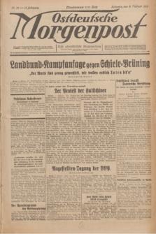 Ostdeutsche Morgenpost : erste oberschlesische Morgenzeitung. Jg.13, Nr. 33 (2 Februar 1931)