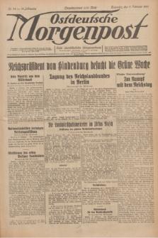 Ostdeutsche Morgenpost : erste oberschlesische Morgenzeitung. Jg.13, Nr. 34 (3 Februar 1931)