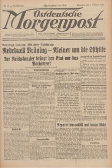Ostdeutsche Morgenpost : erste oberschlesische Morgenzeitung. Jg.13, Nr. 37 (6 Februar 1931)