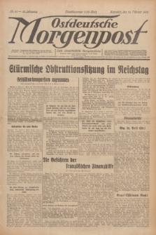 Ostdeutsche Morgenpost : erste oberschlesische Morgenzeitung. Jg.13, Nr. 41 (10 Februar 1931)