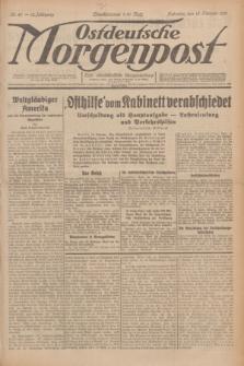 Ostdeutsche Morgenpost : erste oberschlesische Morgenzeitung. Jg.13, Nr. 46 (15 Februar 1931) + dod.