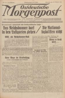 Ostdeutsche Morgenpost : erste oberschlesische Morgenzeitung. Jg.13, Nr. 50 (19 Februar 1931)