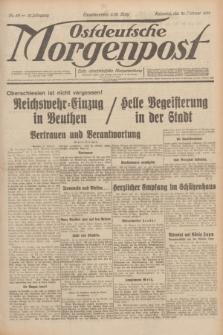 Ostdeutsche Morgenpost : erste oberschlesische Morgenzeitung. Jg.13, Nr. 52 (21 Februar 1931)