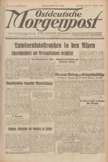 Ostdeutsche Morgenpost : erste oberschlesische Morgenzeitung. Jg.13, Nr. 54 (23 Februar 1931)