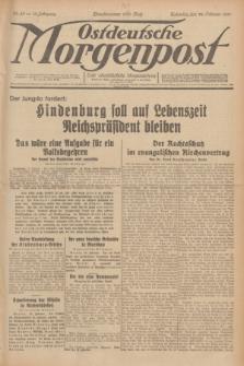 Ostdeutsche Morgenpost : erste oberschlesische Morgenzeitung. Jg.13, Nr. 55 (24 Februar 1931)