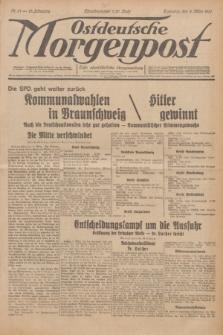 Ostdeutsche Morgenpost : erste oberschlesische Morgenzeitung. Jg.13, Nr. 61 (2 März 1931)