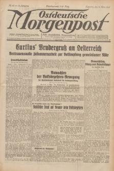 Ostdeutsche Morgenpost : erste oberschlesische Morgenzeitung. Jg.13, Nr. 62 (3 März 1931)