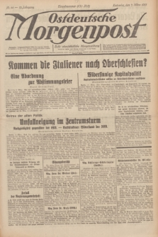 Ostdeutsche Morgenpost : erste oberschlesische Morgenzeitung. Jg.13, Nr. 66 (7 März 1931)