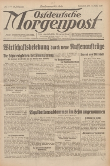 Ostdeutsche Morgenpost : erste oberschlesische Morgenzeitung. Jg.13, Nr. 71 (12 März 1931)