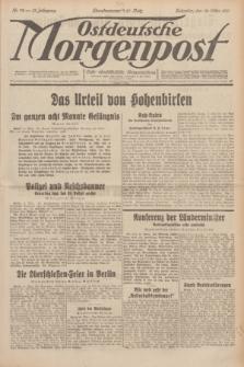 Ostdeutsche Morgenpost : erste oberschlesische Morgenzeitung. Jg.13, Nr. 72 (13 März 1931)