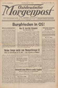 Ostdeutsche Morgenpost : erste oberschlesische Morgenzeitung. Jg.13, Nr. 73 (14 März 1931)